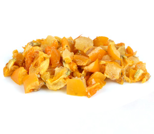 Oven Roasted Semi-Dried IQF Frozen Marinated 10x10 Diced Yellow Tomatoes